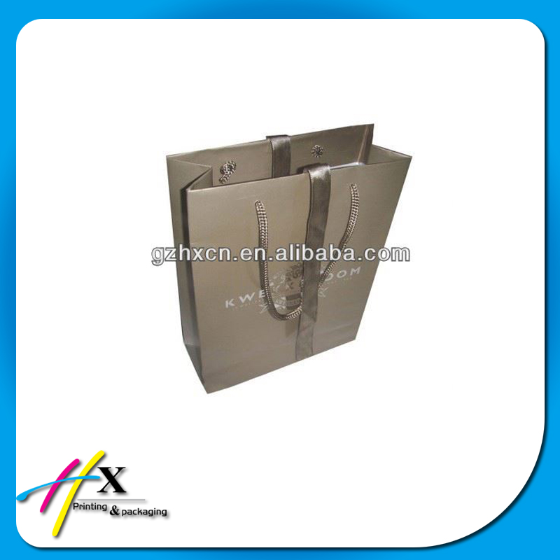 2015 new products paper shopping bag made in China