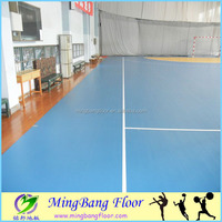 hot sale luxury pvc floor for basketball court