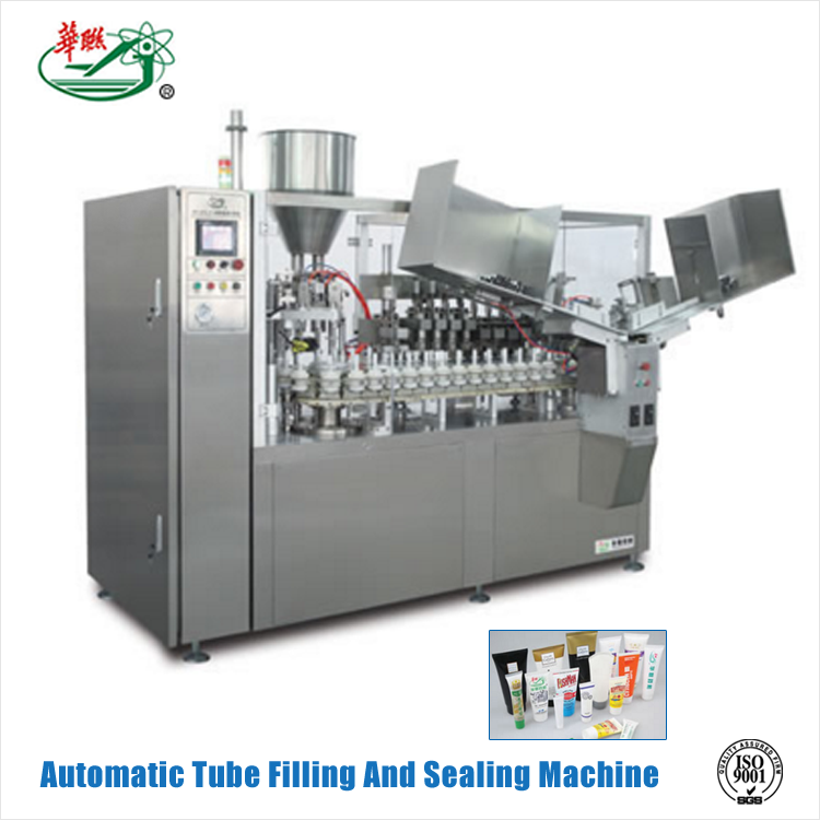 HUALIAN Alibaba China Price Products 5-400ml Metal Tube Filling And Sealing Machine For Cosmetics