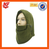 6-in-1 Ski Face Mask Winter Thermal Scarf Fleece Face Cs Mask