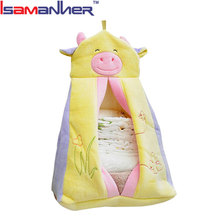 New fashion pink cute animal shape patchwork stroller holding baby bag