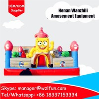 Inflatable Strawberry Shortcake Bounce Inflatable Indoor Ball Pit ...