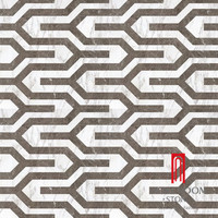 First Choice Glazed Grey Porcelain Tile For Wall Background