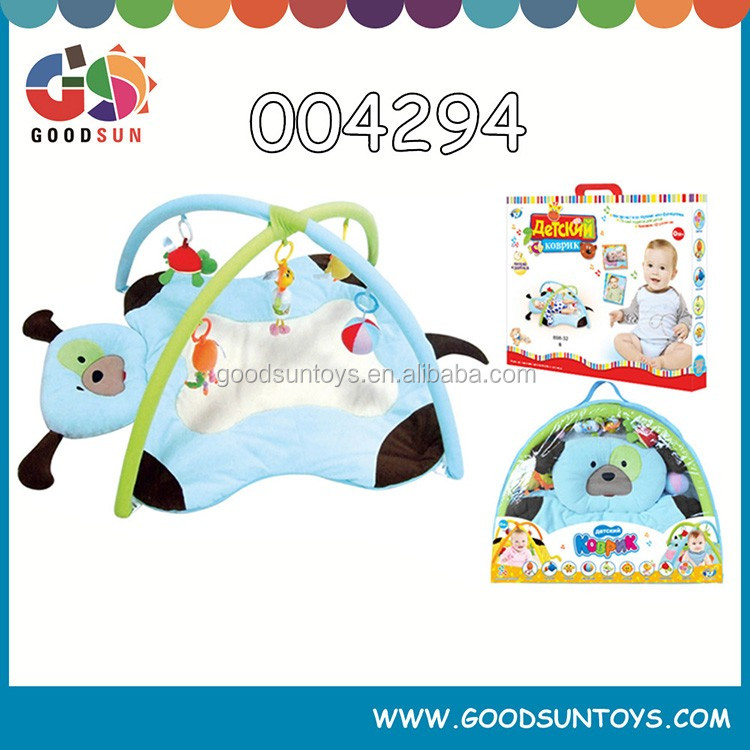 Hot item health baby play gym mat toys ,baby educational toys,baby cow play toy