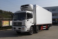 Dongfeng 6x2 Refrigeration Unit For Refrigerated Box Truck /Refrigerated Cold Room Van Truck