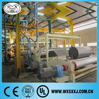 leather bag making line machine/PVC leather product line