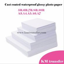 Professional inkjet glossy/matte cast coated/RC photo paper 4x6