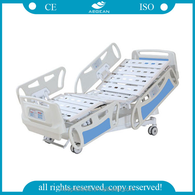 AG-BY008 weighting electric motor clinic bed medical equipments nursing care hospital bed electric bed lift
