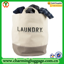 Water-resistant Canvas Laundry Hamper Basket Laundry Bag with Handles