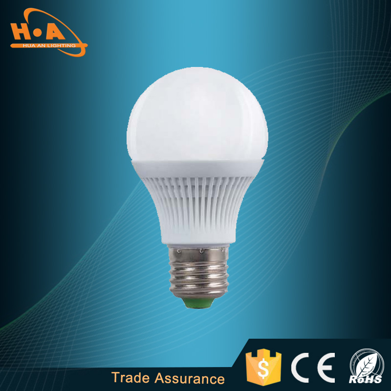 Guangzhou supplier high energy saving 3W/5W/8W LED lighting bulb