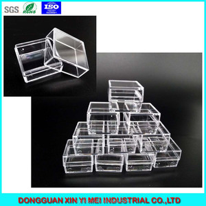 Wholesale various clear plastic packaging boxes