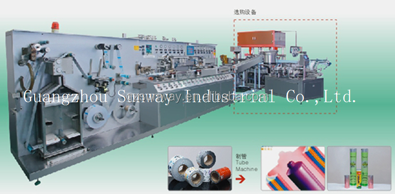 Laminated Tube Producer/Supplier making machine/manufacturing line