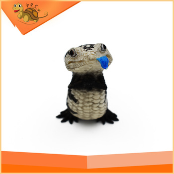New handmade reptile animal toy models resin animal model hand drawing models for Child Toy Art collection