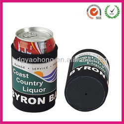 Dye sublimation neoprene Coca-Cola can coolers (factory)