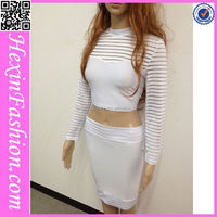 Wholesale White Casual Girls Cotton Masakali Dress