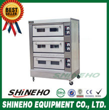 B017 convector rotary oven/custom printed bakery boxes/free standing gas oven
