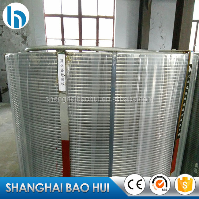 Calcium silicide cored wire for steel-marking in Shanghai high quality good quality metallurgy good quality Ca Si core wire