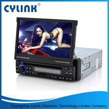 7 inch touch screen single din car dvd player with gps navigation DVD/VCD/CD/SD/USB/TV/BT/AVIN/Rad car radio