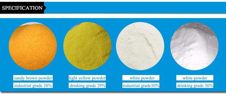 yellow spray poly aluminium chloride/polyaluminium chloride pac 30% 29% for water treatment