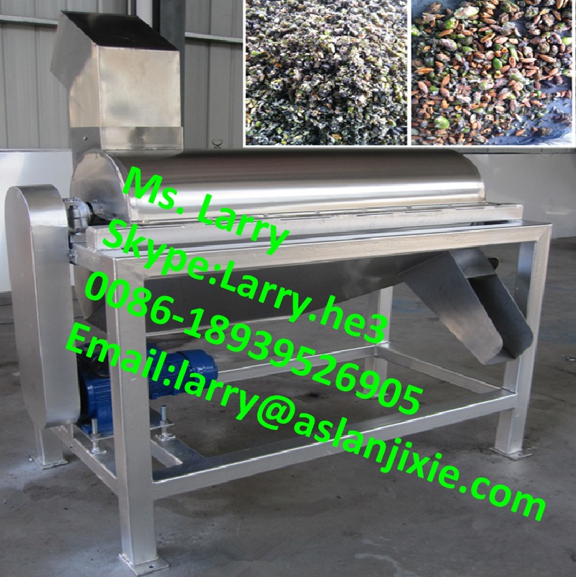 olive crusher pitter/olive seeds remover/olive processing machine