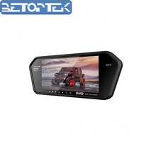 New 7 Inch 16:9 UHD IPS Car rearview Monitor with MP5&bluetooth