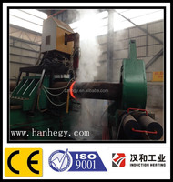 Automatic hot pipe bending machine for gas and oil tubo