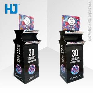 Advertising high quality cardboard display for trade show
