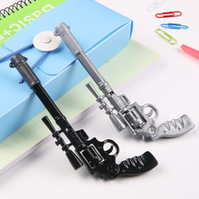 HF113 fancy design promotional gift interesting plastic toy gun pen