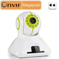 Megapixel IP Kamera H264 Dual Stream 3.6MM Day/NightDome Mobile Detection Network Security Cameras