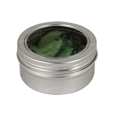 wholesale slide top mini metal spice tins