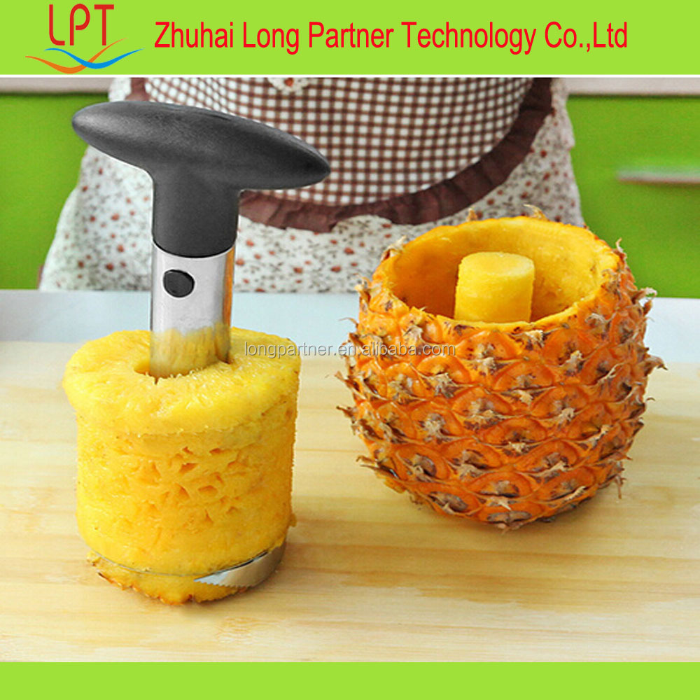 wholesale easy slicer pineapple peeler , pineapple slicer , can pack other kitchen gadget together