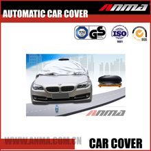 Full body waterproof 100% UV protection heated automatic car cover with remote control