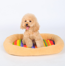 small dog pet bed velveteen warm X small pet bed for dog sleep and rest