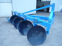 3 point hitch disc plow of tractor mounted
