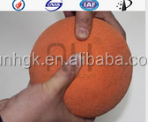 Cleaning sponge ball DN125 for concrete pump