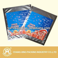 Moisture and Oxygen Barrier Packaging Bags Aluminum Foil For Frozen Sea Food