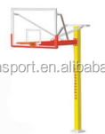 Hebei huiya high quality steel fixed basketball hoop stand