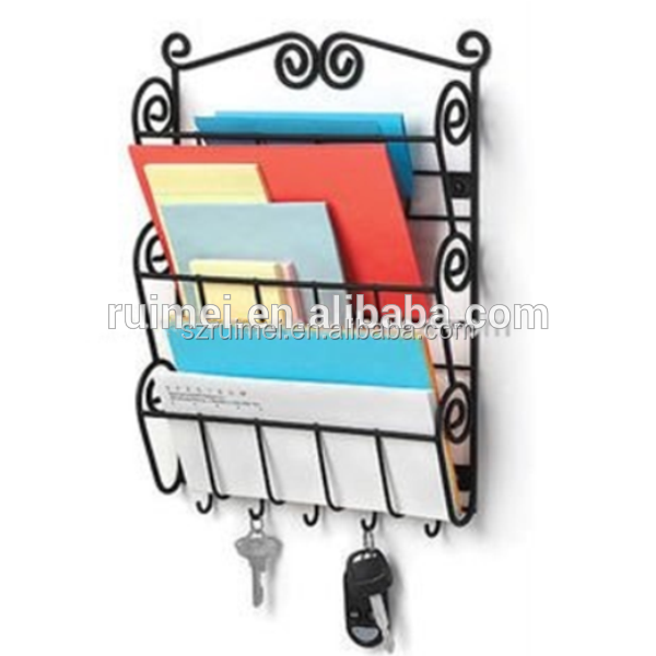 Metal Wire Wall Mounted Greeting Card Displays
