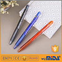cheap erasable ball point pen color remove by friction MD-6080