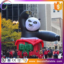 hot sale high quality lovely inflatable kungfu Panda for outdoor and decoration