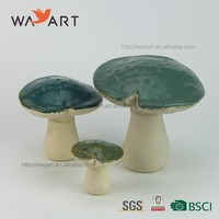 New Arrival Custom Colorful Ceramic Mushrooms