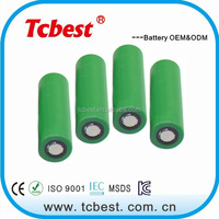 shenzhen supplier customized rechargeable 18650 3.7v 1800mah li-ion battery