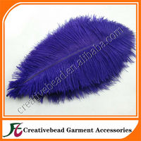 Natural purple ostrich feather decorative ostrich feather for party