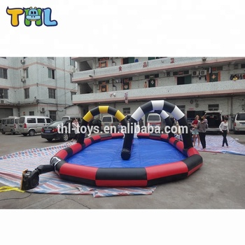 cheap racing go kart frames for sale, wholesale go kart race track used commercial,inflatable air race track sale