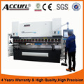 WC67K press brake, hydraulic bending machine for sheet metal, plegadora hydraulic with European CE Standards for Accurl