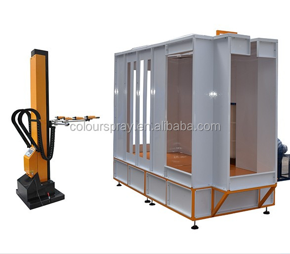 Automatic Powder Booth for Painting Gas Cylinder
