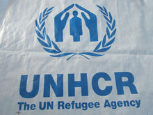 Unhcr disaster relief camp refugee tent