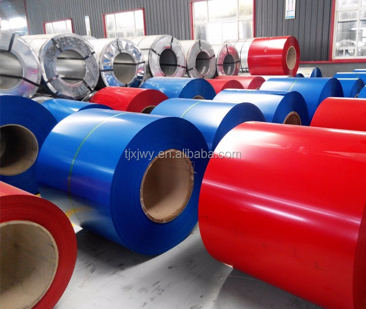 Building materials Colorful prepainted galvanized steel coil secondary quality cr steel coil