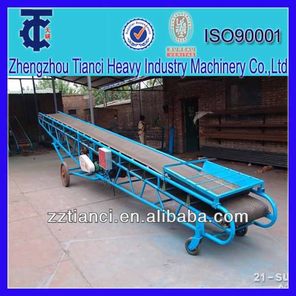Bag material automatic conveyor belt fastener conveyor