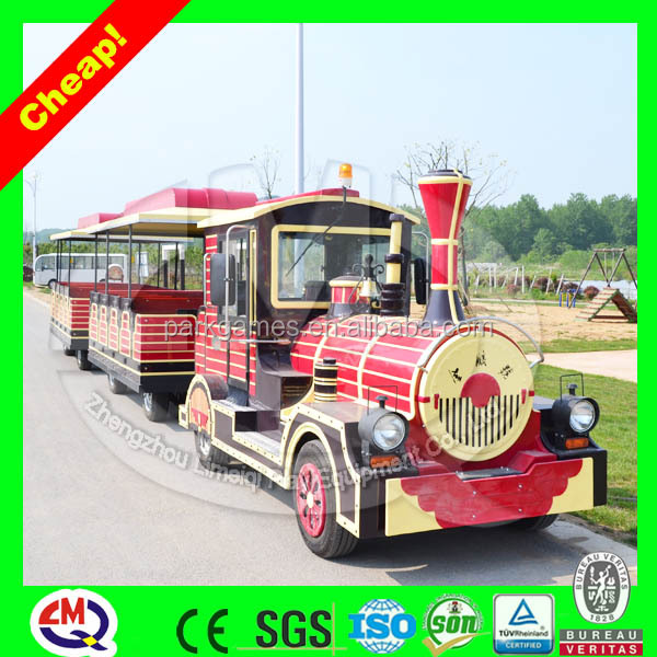 Amusement park antique train metal christmas train